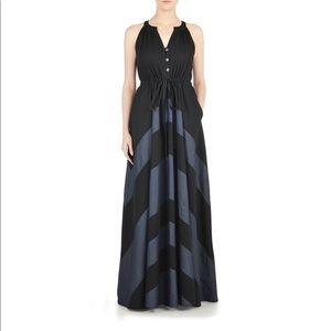 Curvy maxi dress